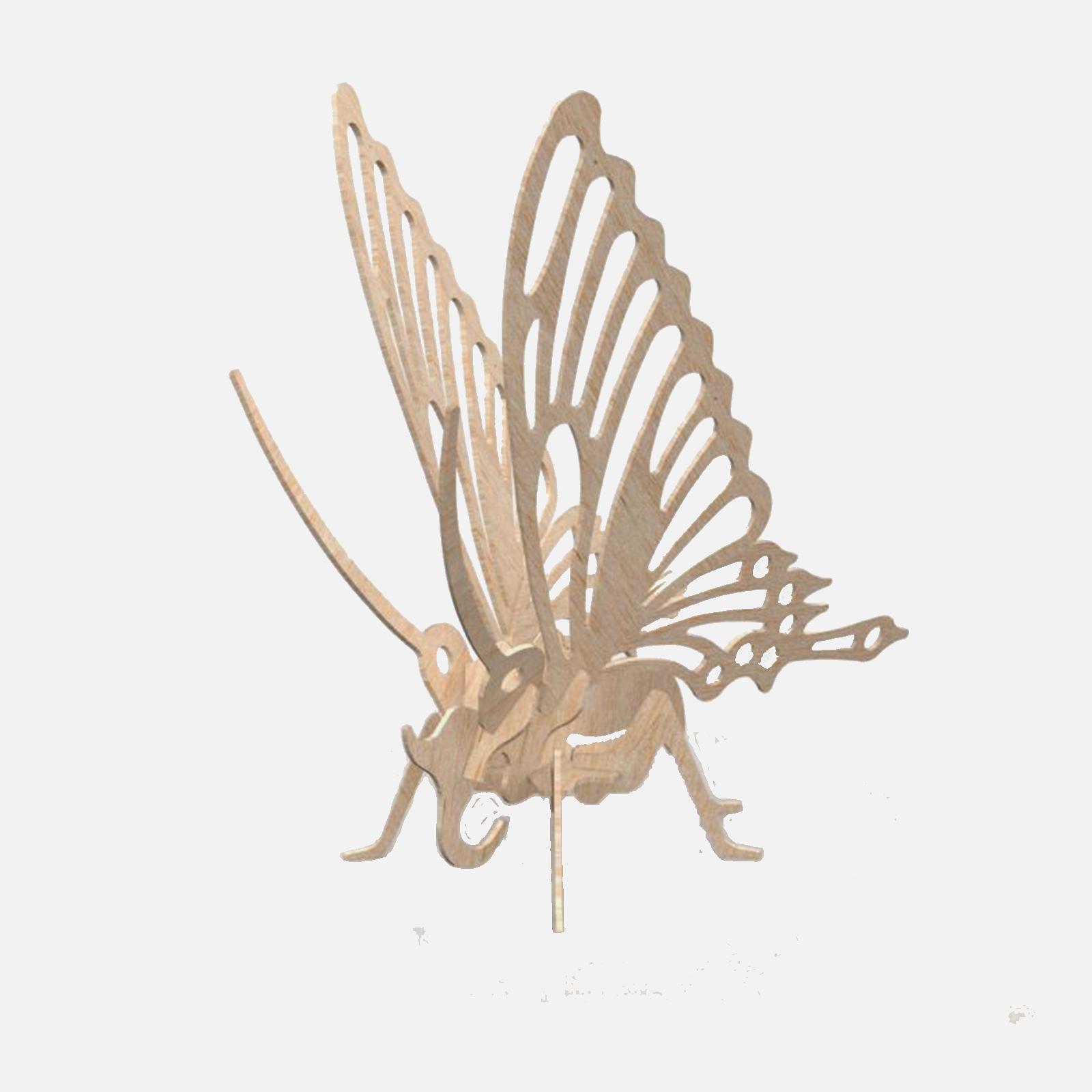 Fluture Puzzle 3D